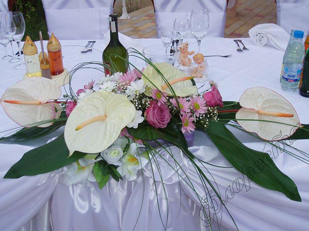 Flower shops floresta wedding decoration 3 - Deco table rose ...