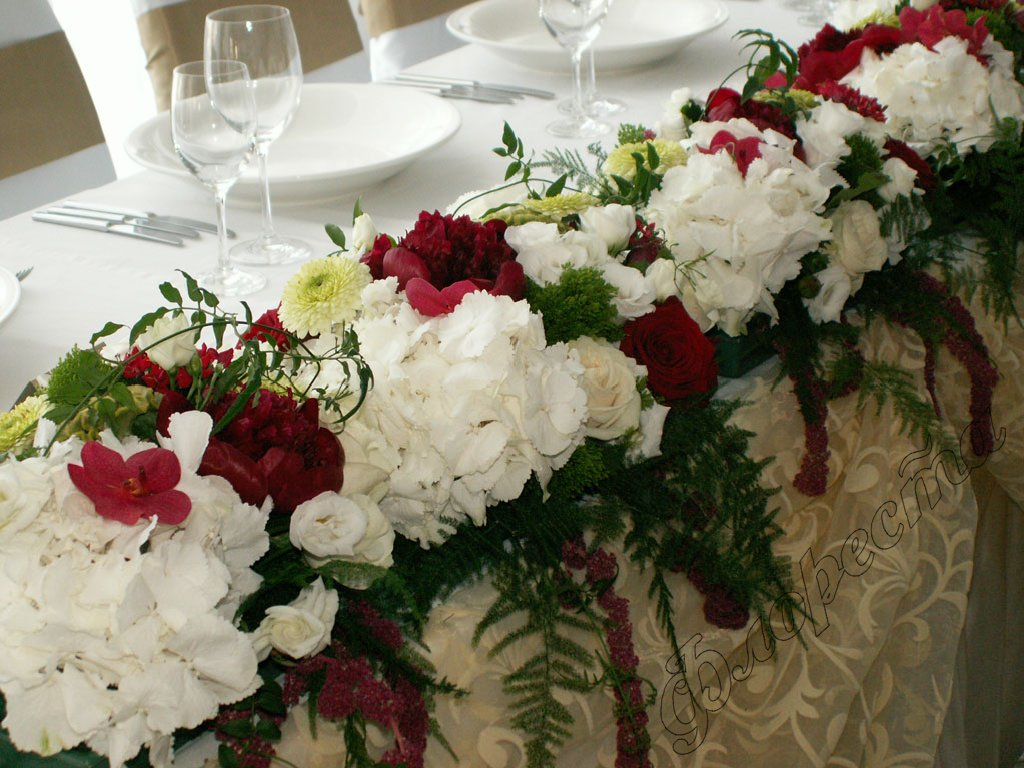 Flower shops floresta wedding decorations for Decoration rose